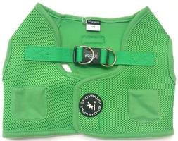 """Green Dog Vest Harness iPuppyone Last Size Available  22-24"""""""