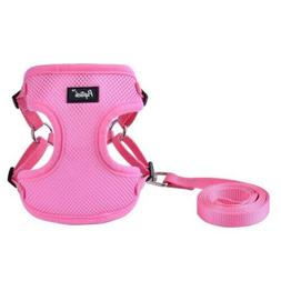 PUPTECK Harness for Small Dogs - Leash Set Adjustable Soft M