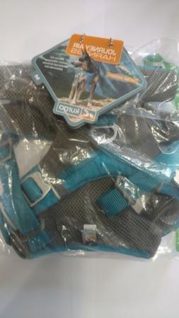 Kurgo Journey Air Dog Harness, Grey/Blue Reflective, Medium