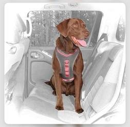 Kurgo Journey Dog Harness Grey and Pink, LARGE-