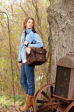 Kurgo K9 Courier Pet Travel Bag and Dog Car Booster Seat