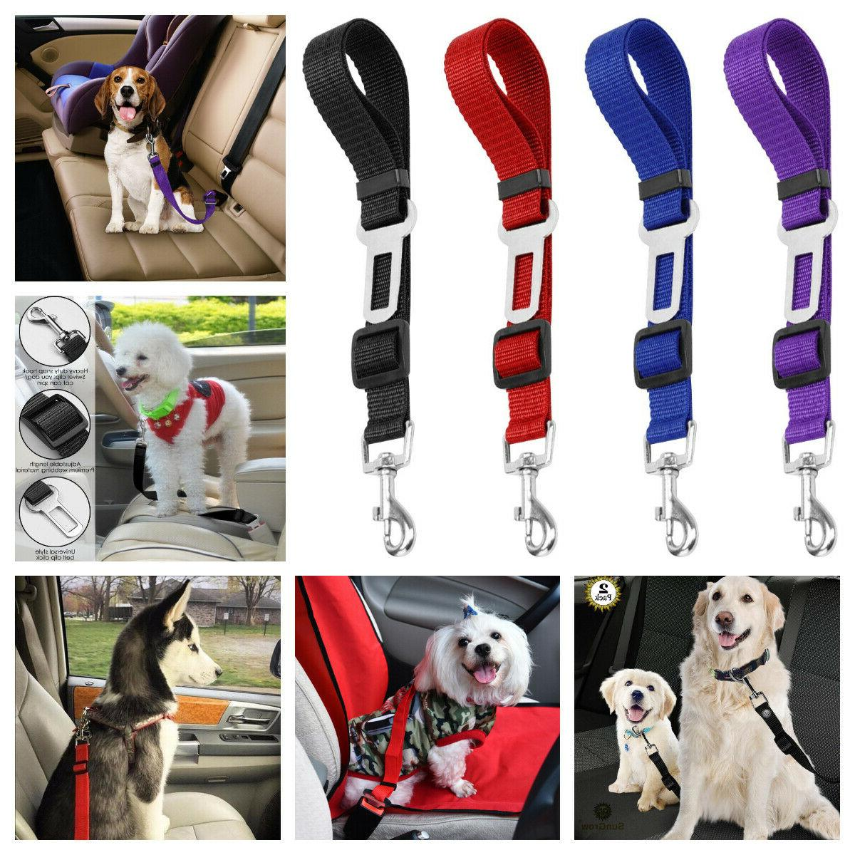 2 pack cat dog pet safety seat