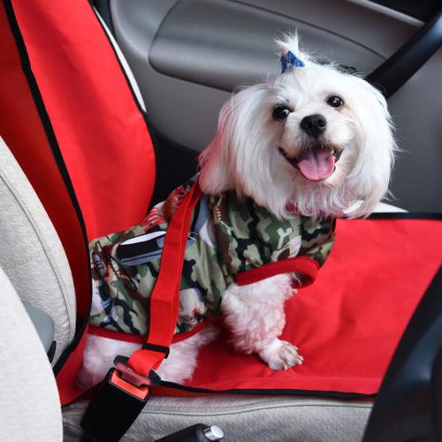 2 Pack Dog Pet Safety for Car Harness Lead