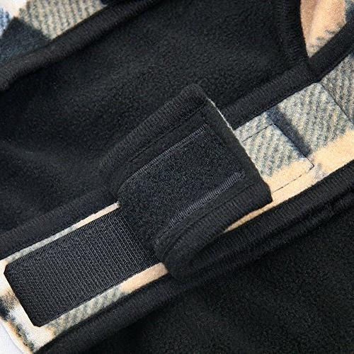 Best Voyager Windproof Fleece Jacket, Checkers