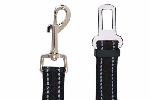 2Pack Dog Safety for Car Harness Lead
