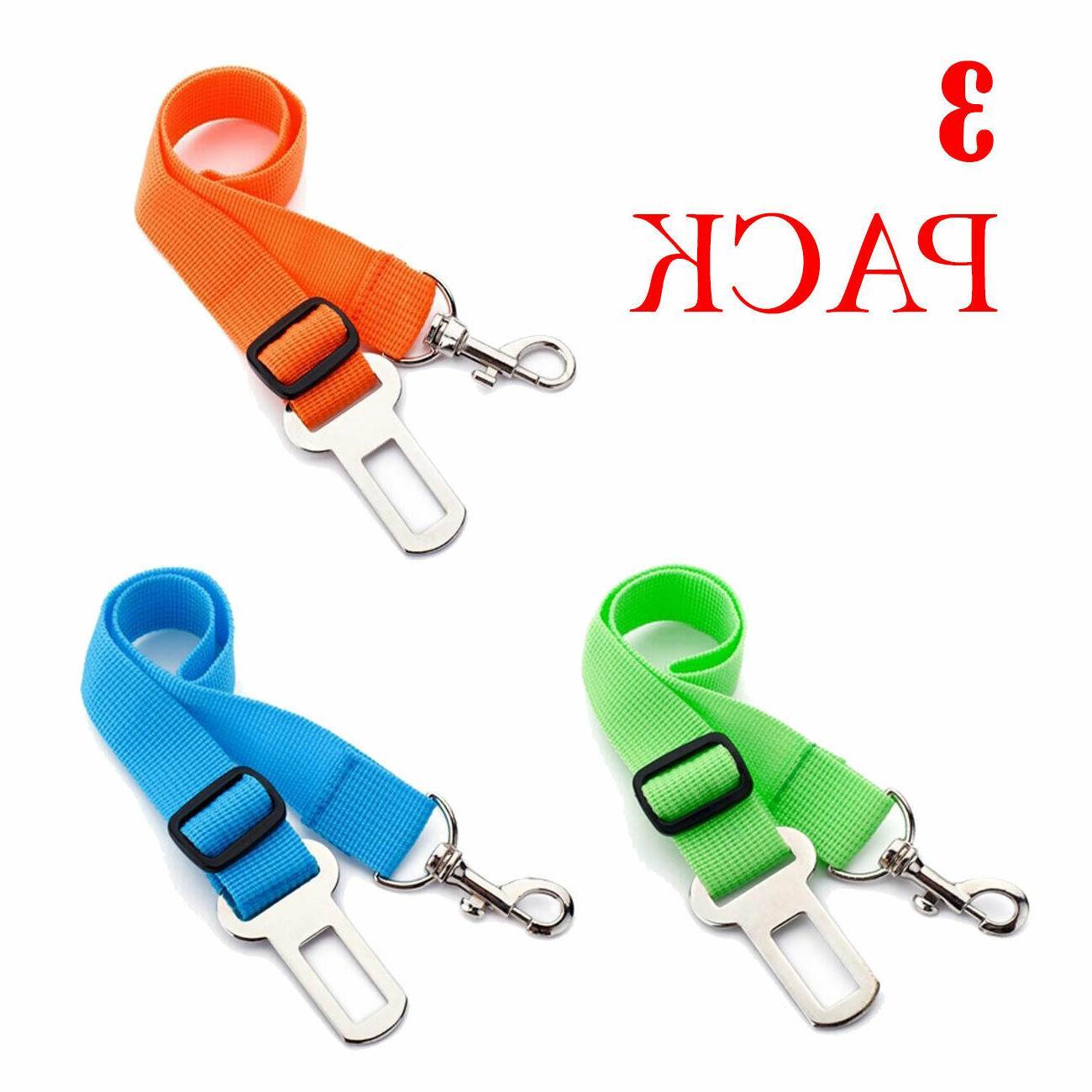 3 x colorful dog pet safety adjustable
