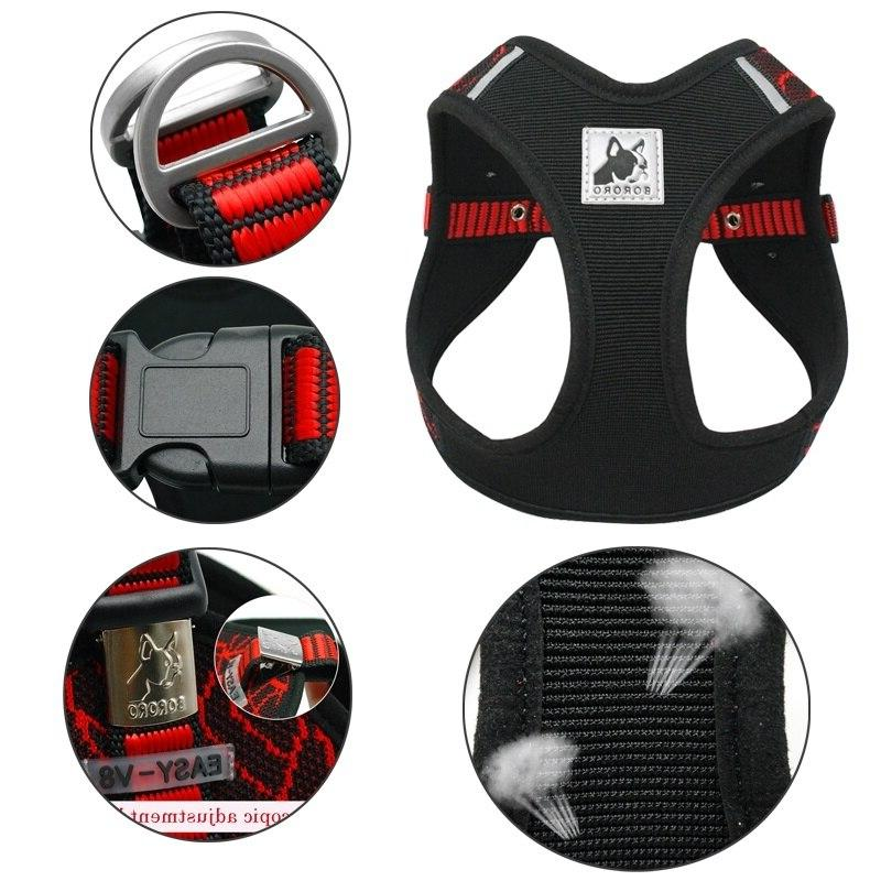3M Reflective <font><b>Harness</b></font> <font><b>Harness</b></font> Vest No Step-in for French