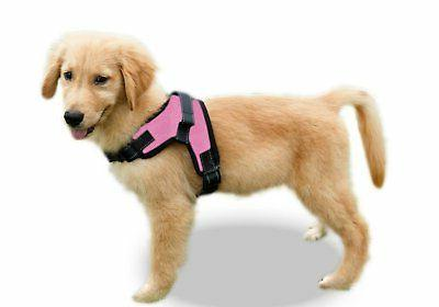 Copatchy No Pull Reflective Adjustable Dog Harness With Hand