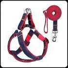 Dog Leash Harness Adjustable Durable Leash Set Heavy Duty De