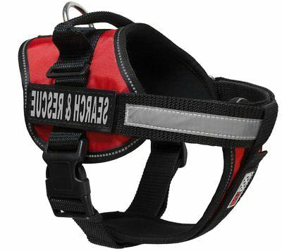 Dogline Unimax Multi-Purpose Vest Harness for Dogs and 2 Rem