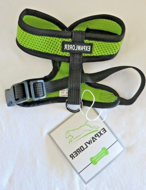 EXPAWLORER DESIGNER - Choke Free  Dog Harness - SIZE S - GRE