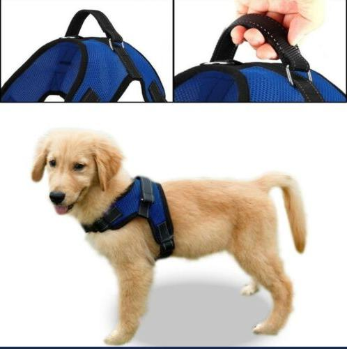 Expawlorer Dog Harness Big Dog Soft Reflective No Pull Harne