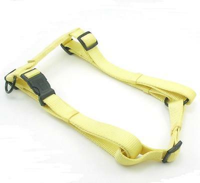 HAMILTON Adjustable Nylon Comfort Dog Harness, Large, Lemon