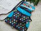 Harness and Leash Set size LG- NAVY STARS fits tiny Dog/Cat/