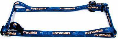 Hunter 3/4-Inch Edmonton Oilers NHL Adjustable Dog Harness,