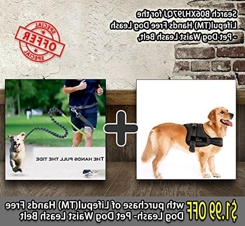 Lifepul No Pull Dog Vest Harness - Dog Body Padded Size: Extra