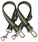 PUPTECK 2 Pack Adjustable Dog Seat Belts for Car Pet Reflect