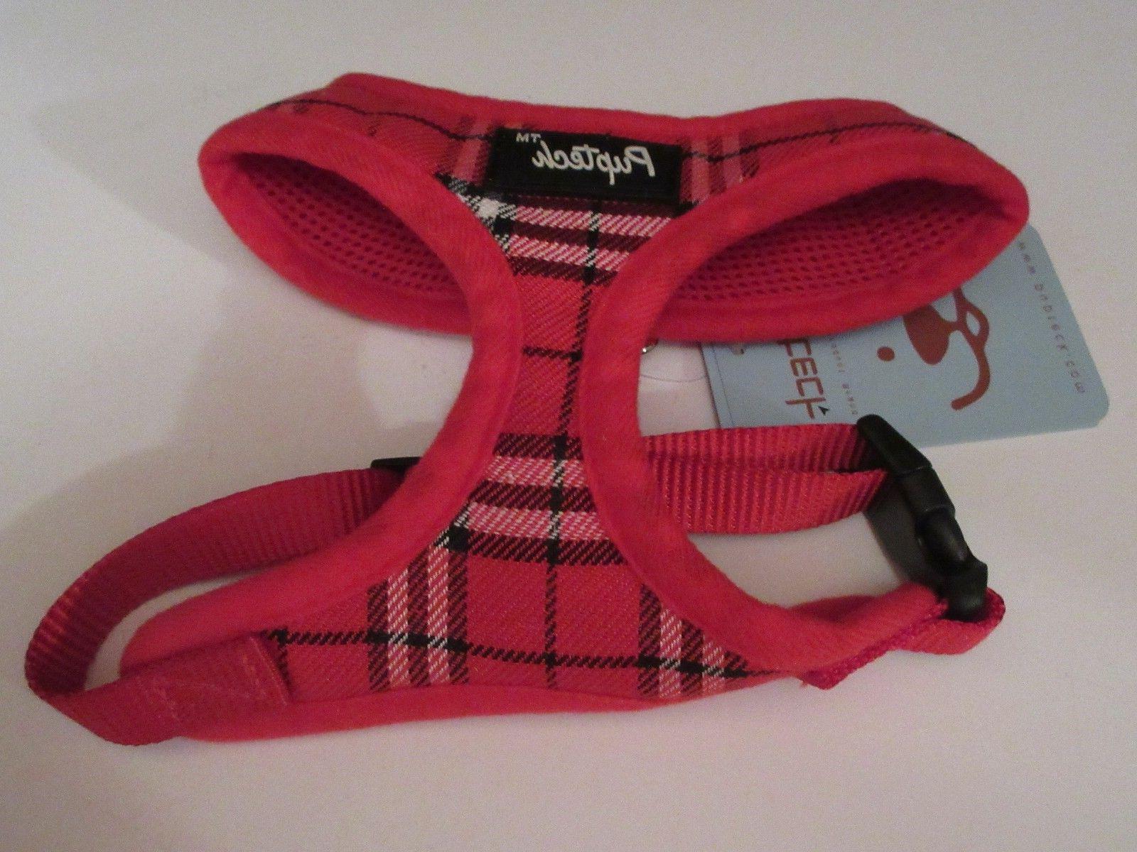 PUPTECK Soft Mesh Dog Harness Pet Comfort Padded Vest No Pul