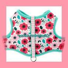 ~Top Paw Baby Pink Flower Sky Blue Padded Reversible! Dog
