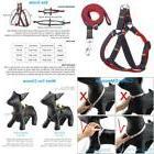 Urpower Dog Leash Harness Adjustable & Durable Leash Set