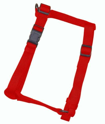 Adjustable Pet Harness, X-Small Red