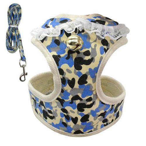 Adjustable Dog & Dog Leash Set Small Dog Harness Harness
