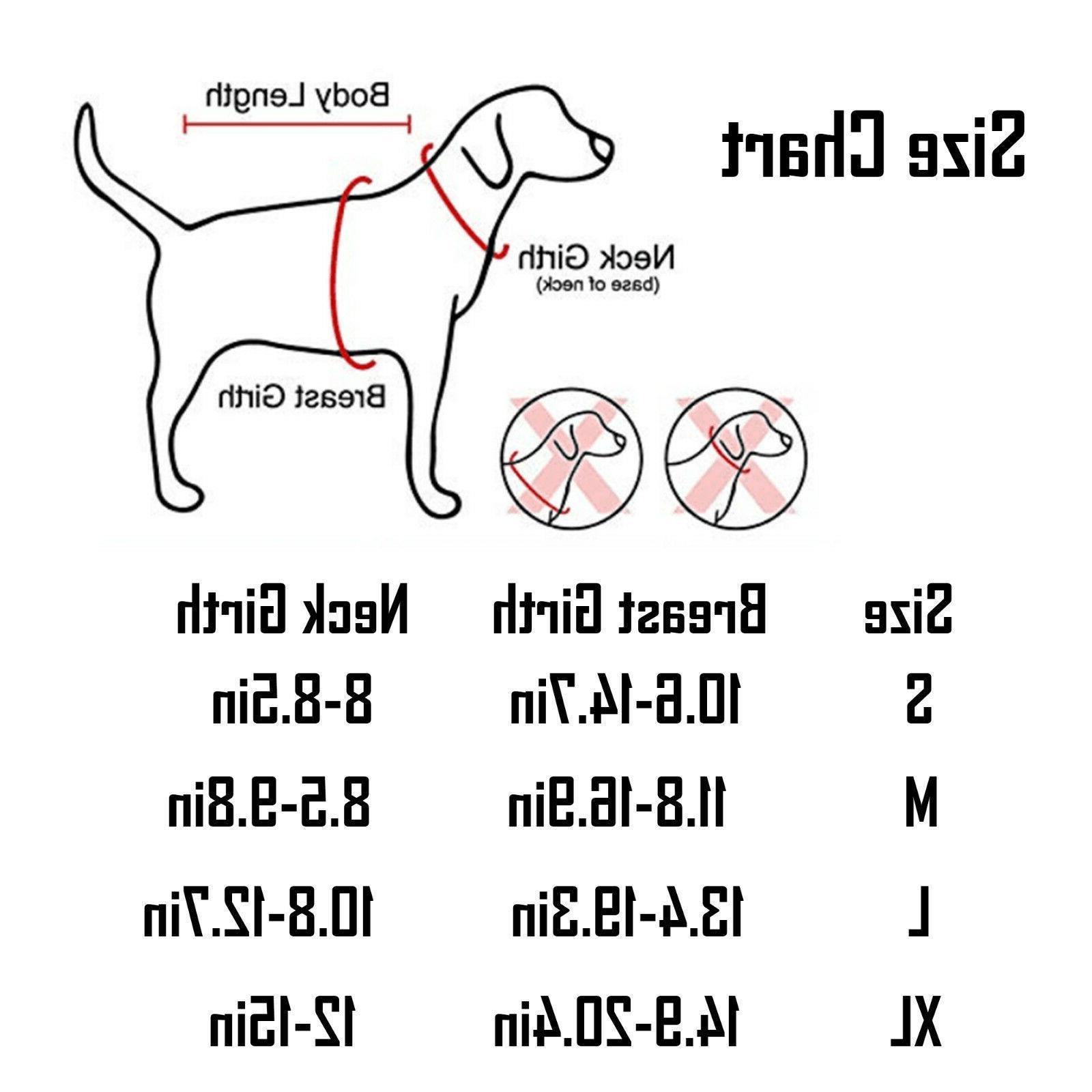 Adjustable No Pull Dog Pet Vest Durable Safety Click