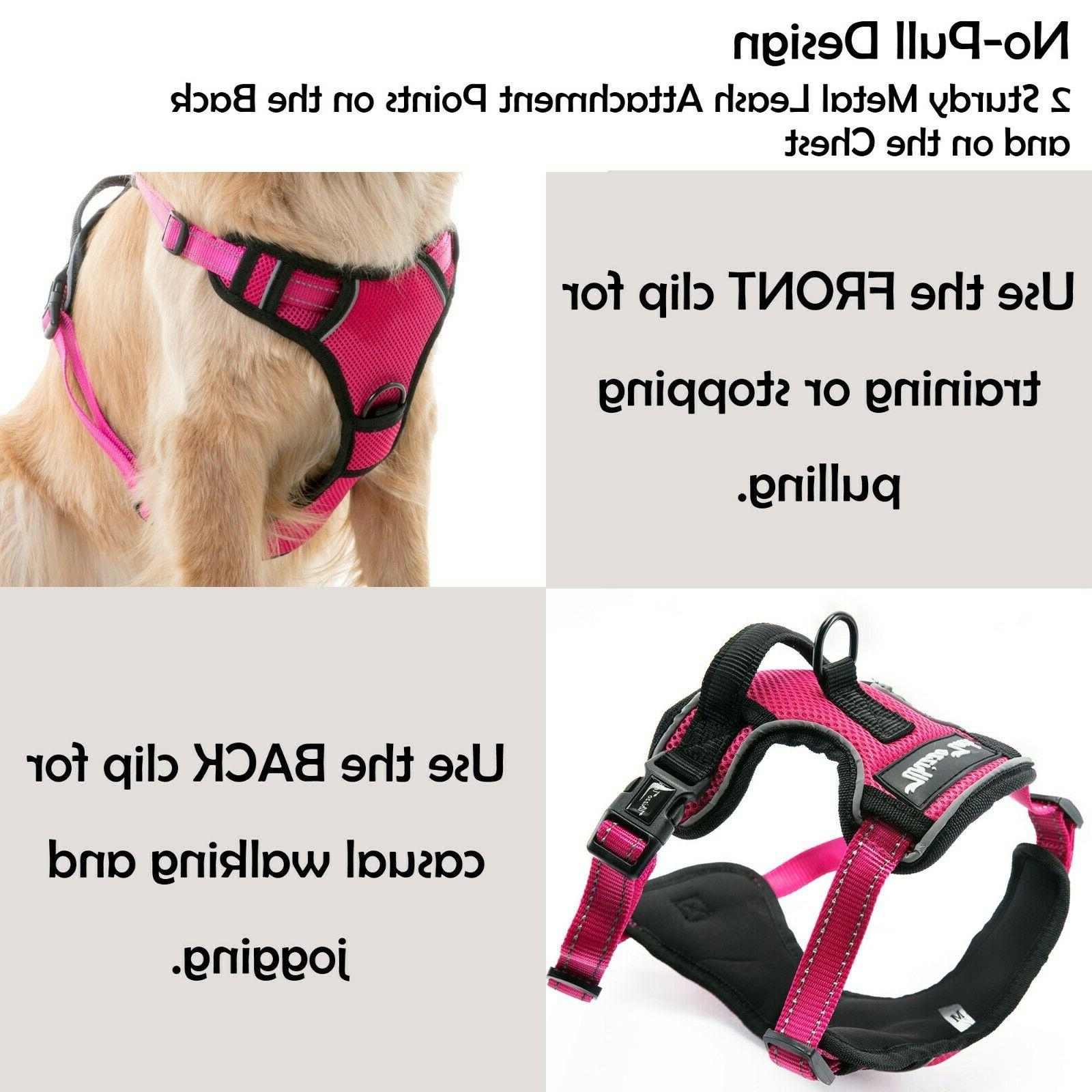 Dog Harness Harness Adjustable Reflective