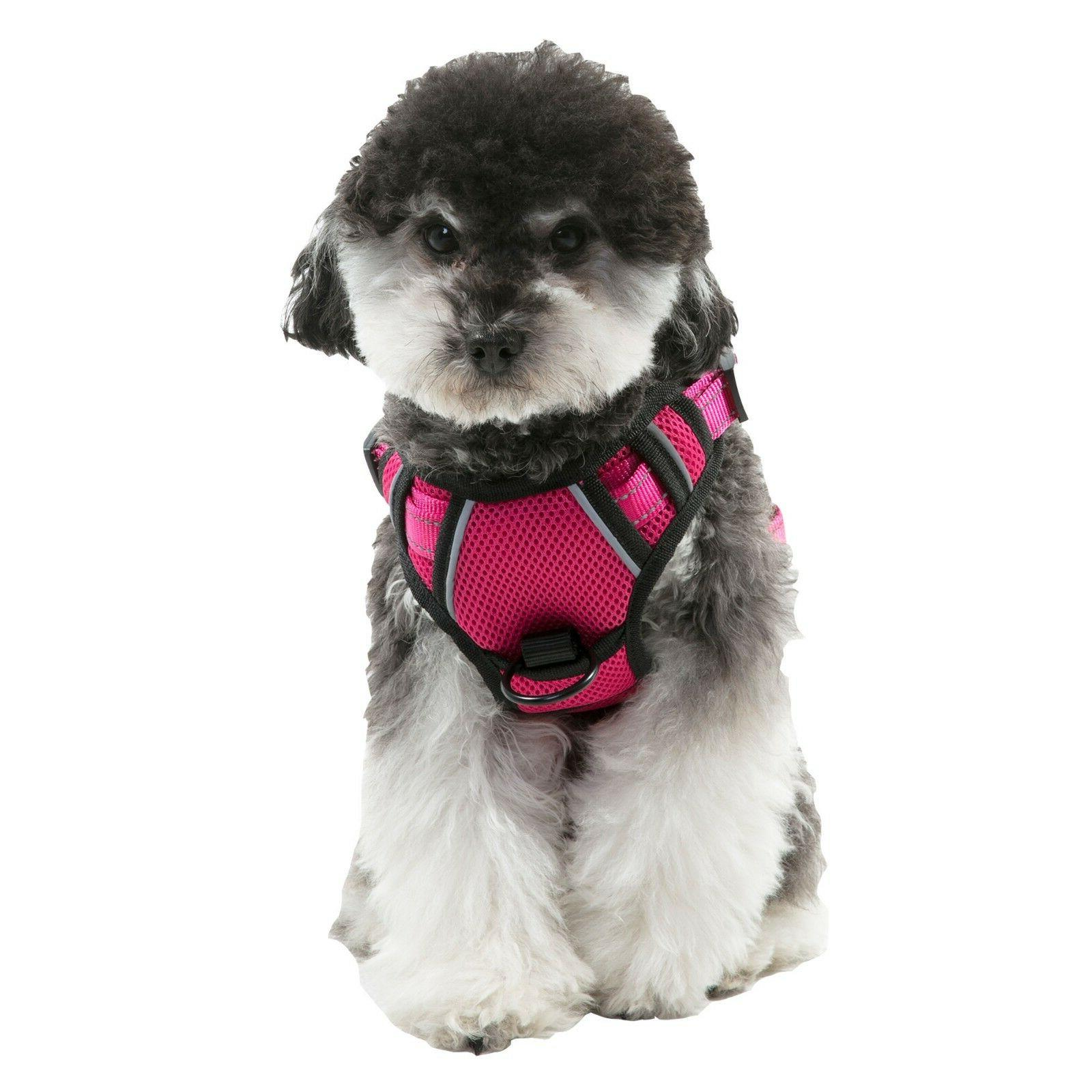 Dog Harness No-Pull Harness Vest Adjustable Reflective Easy Control