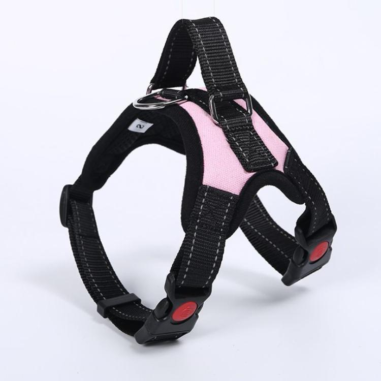 Adjustable No Vest Harness with Handle - XS L