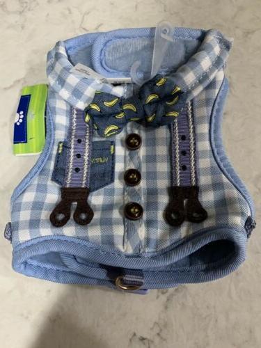 adorable xxs teacup dog vest harness banana