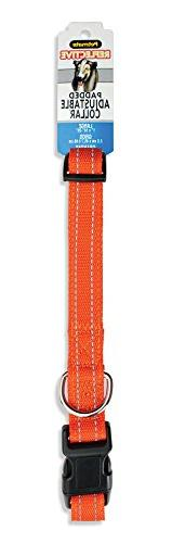 "Aspen Pet Products Reflective Pad Adjustable Collar, 26"", Or"