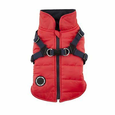 authentic mountaineer ii winter vest large red