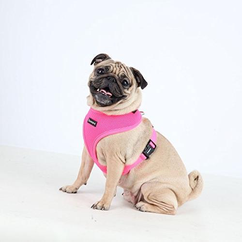 Puppia Neon Soft Harness Medium