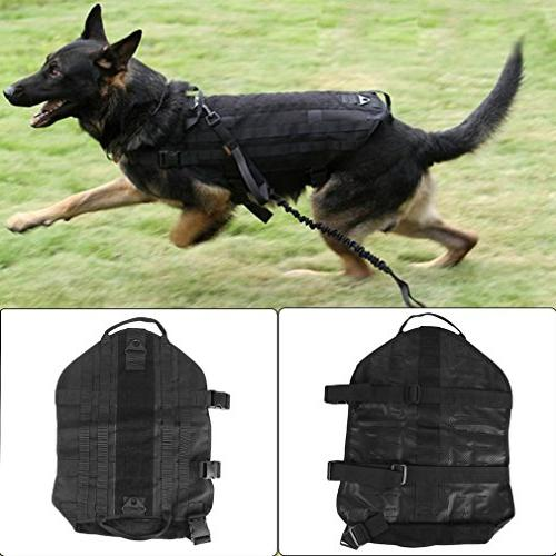 YCDC black Tactical Outdoor Load Bearing Training Harness