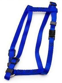 BLUE Petmate Signature Adjustable Nylon Harness Mini XS NWT