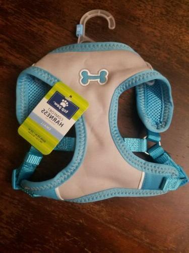 Top Paw® Bone Sport Comfort Dog Harness size: Small, Blu