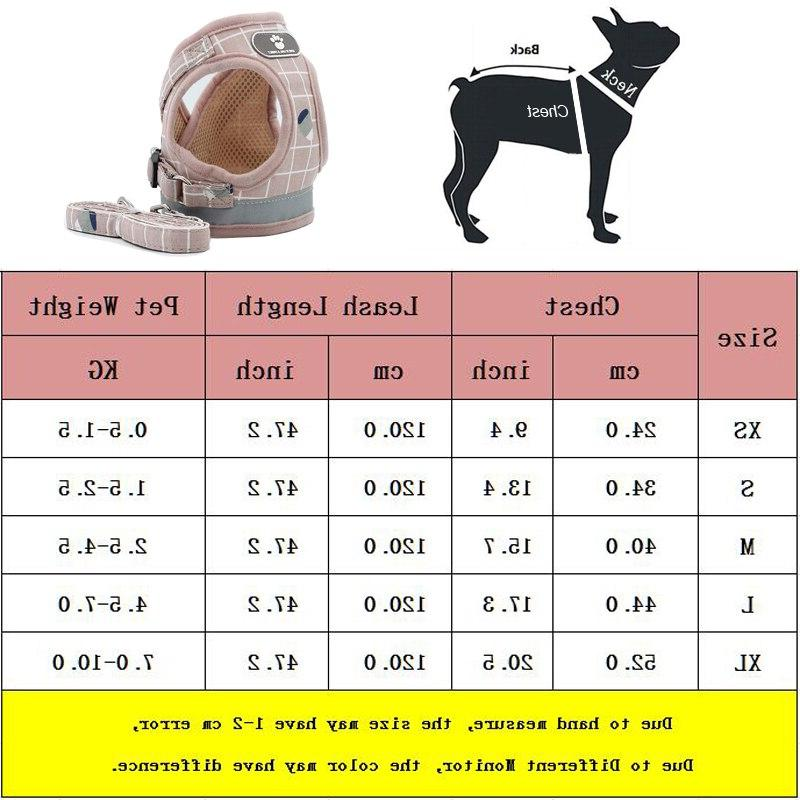 Breathable Small <font><b>Harness</b></font> Puppy <font><b>Harness</b></font> Collar French 35