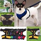Breathable Soft Mesh Pet Harness Belt Safety Strap Collar Pu
