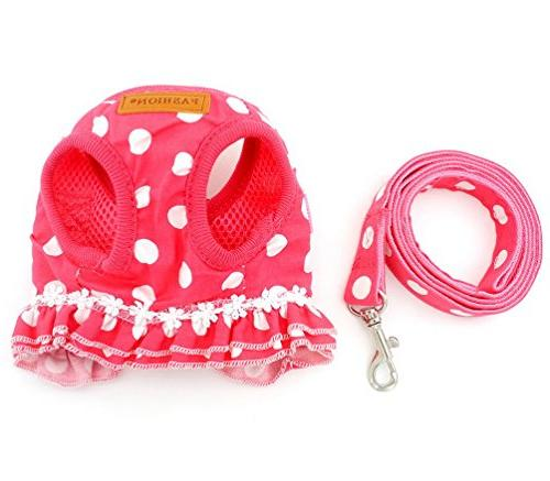 Brother cat Small Harness Pink M