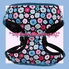 Top Paw Charming Hot & Baby Pink Blue Green Flowers Padded D