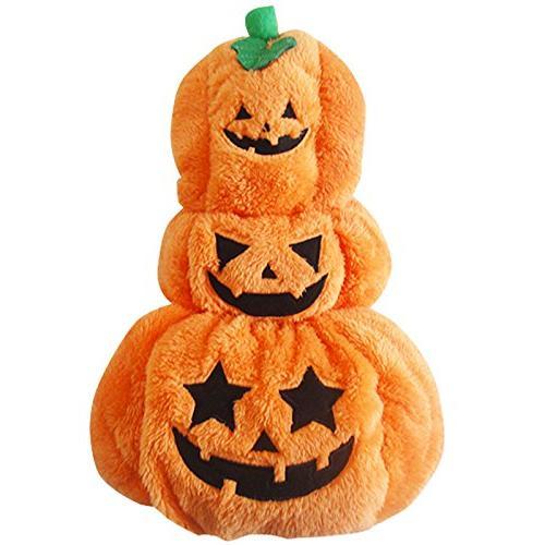 cute halloween dog costume pumpkin