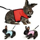 Cute rabbit hamster Chest Strap Traction Rope Vest Harness N