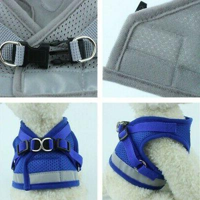 Harness Vest Leash and Mesh Cat Soft Puppy