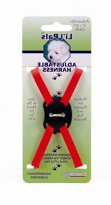 Coastal Pet Products DCP248RED Nylon Li'l Pals Adjustable Ri