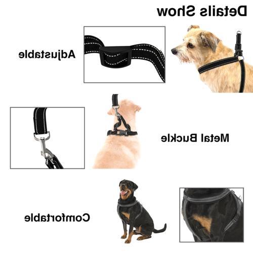 Dog Accessories Harness & Leash Duty Adjustable