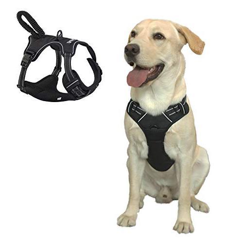 dog harness adjustable pet vest