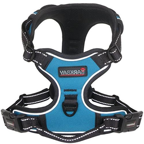 BARKBAY No Harness Outdoor Reflective for Dogs Control Large Dogs