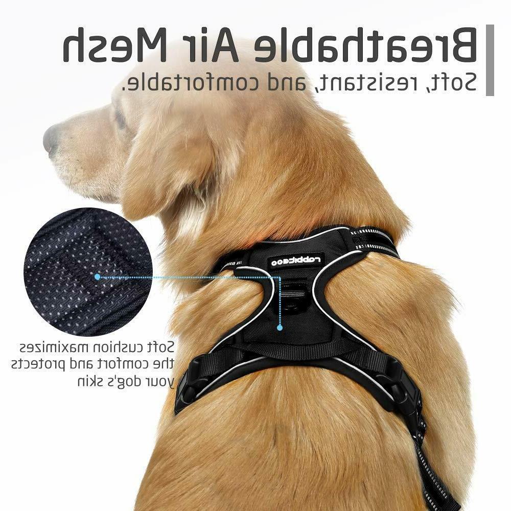 RABBITGOO Small Size No-Pull Adjustable Dog Harness
