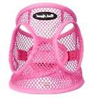 Dog Harness PINK Step In Netted EZ Wrap Choke Free Up to 25""